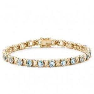 Jewelry - 14.660ctw Topaz 7.5 Inch Designer Bracelet